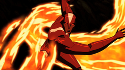 Red Inferno powers