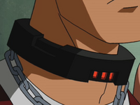 Inhibitor collar