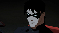 Nightwing is angry