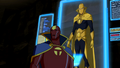 Red Tornado briefing the Team.png