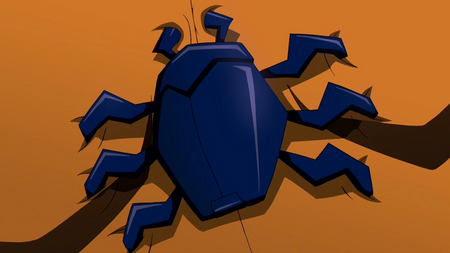 Young Justice Blue Beetle Scarab Scarab | Young Justice...
