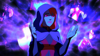 Miss Martian's mind realm