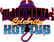 Black Manta's Celebrity Hot Tub logo