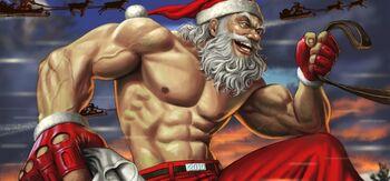 Santa Beer comic 3