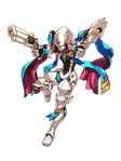 Cobalt Sniper pose