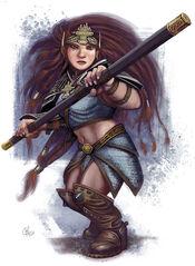 Dwarfwoman
