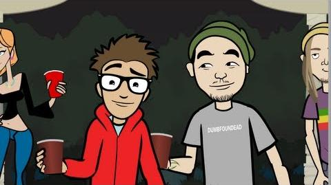 WHITE BOY WASTED feat. Dumbfoundead - (Your Favorite Martian music video)