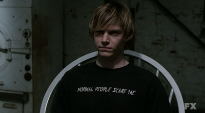 S01E01 Evan Peters as Tate Langdon American Horror Story 6