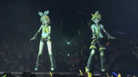 CV02 Kagamine Rin & CV02 Kagamine Len - Migikata no Chou Live in Tokyo, Japan - 1080p HD