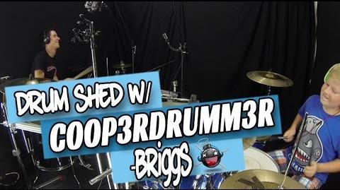 Drum Shed w COOP3RDRUMM3R