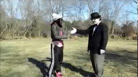 Dance Chaplin Dance! Chaplin Learns Some New Moves!