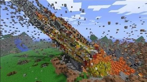 Minecraft Mod Showcase Meteor Mod!