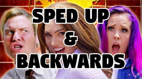 Bart Baker Jennifer Lopez- Ain't Your Mama Parody Sped Up & Backwards