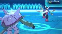 Pokemon X and Y WiFi Battle - 4 vs D23KG - Mega Scizor and Mega Blaziken