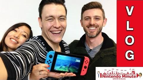 Nintendo Minute Behind the Scenes! NEW Breath of the Wild and 1-2-Switch Gameplay! ThanksDemetrius-0