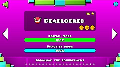 "Geometry Dash - ""Deadlocked"" 100% Complete All Coins GuitarHeroStyles"