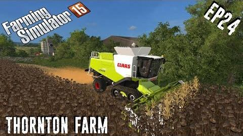 Let's play Farming Simulator 15 Thornton Farm EP24