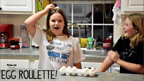 Egg Roulette and A Special Visit from CUPQUAKE