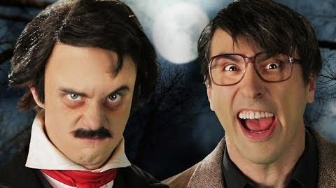 Stephen King vs Edgar Allan Poe. Epic Rap Battles of History Season 3