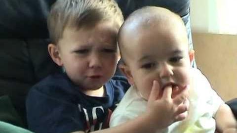 Charlie bit my finger - again!
