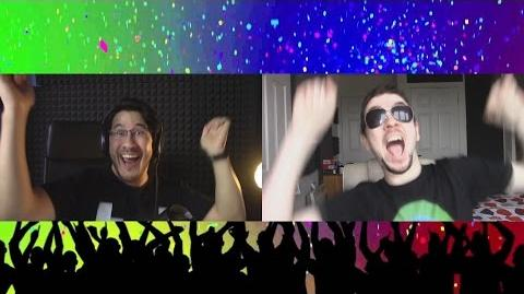 Markiplier and JackSepticEye Simultaneously Have A Dance Party