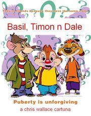 Basil, Timon n Dale Title Card