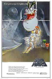 Star Wars (Disney and Sega Style) Poster