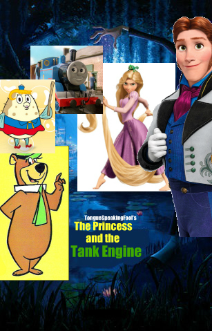 The Princess and the Tank Engine TongueSpeakingFool Style Poster New