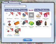 Searchable Inventories