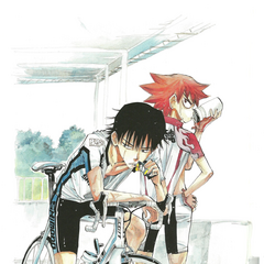 Naruko with Imaizumi.