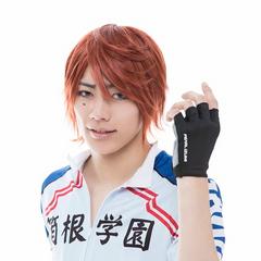 <center>Higashi Keisuke as Ashikiba Takuto.</center>
