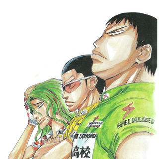 Tadokoro with Kinjou and Makishima.