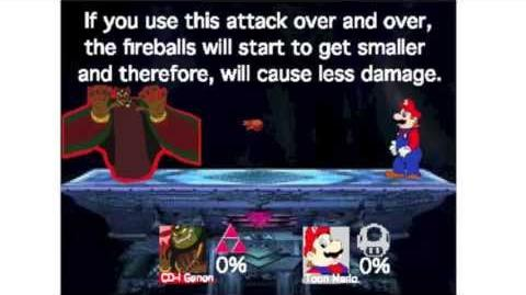 Smash Bros Lawl Moveset- CD-I Ganon