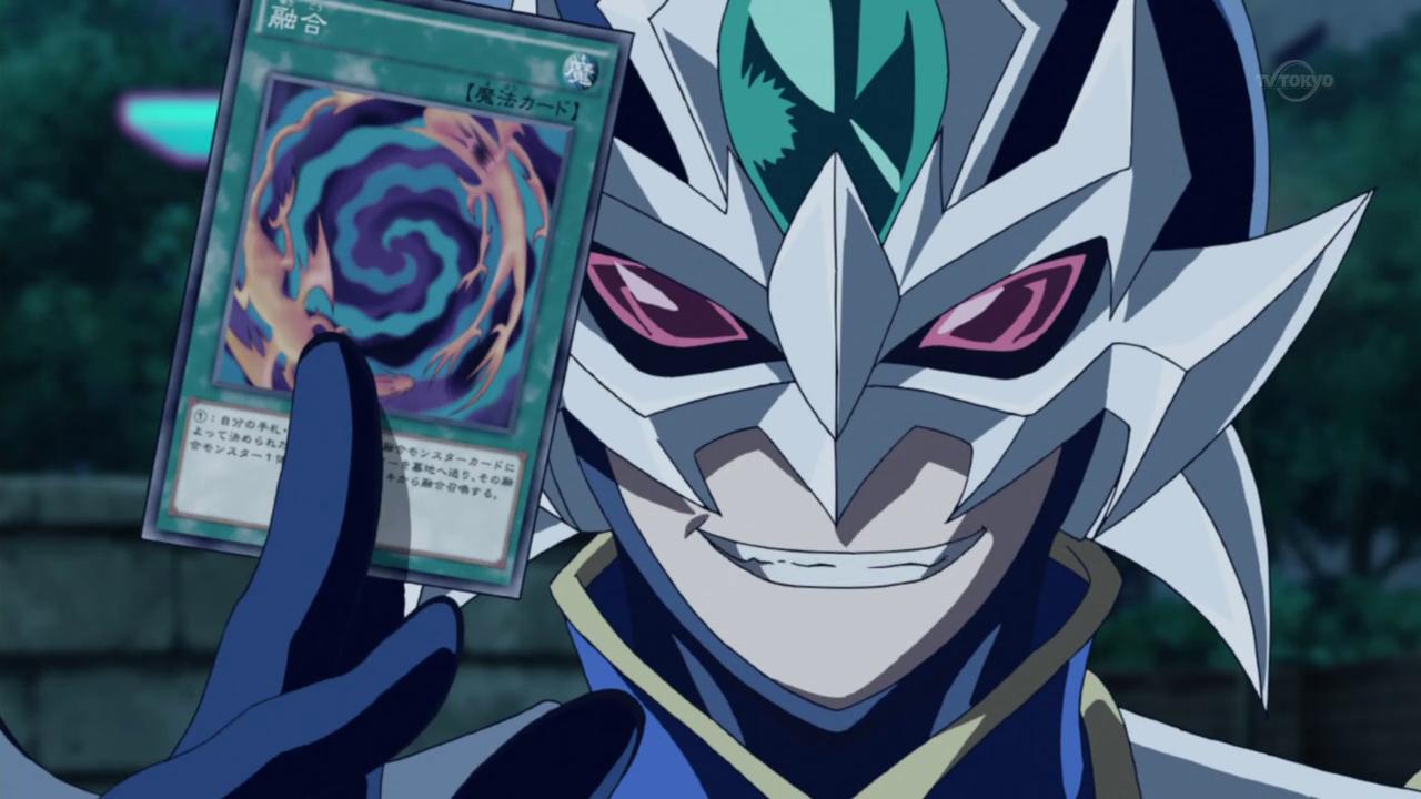 Image - Arc V Obelisk Force with Fusion Card.png   Yu-Gi
