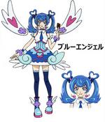 Full Body Blue Angel