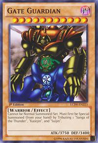 YuGiOh! TCG karta: Gate Guardian