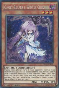YuGiOh! TCG karta: Ghost Reaper & Winter Cherries
