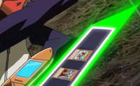 Yaiba's Duel Disk