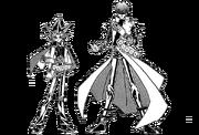 Dark Yugi and Kaiba - manga