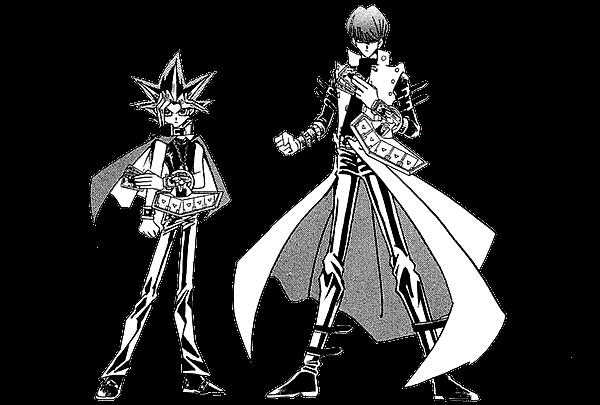 File:Dark Yugi and Kaiba - manga.png