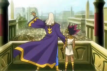 Atem and his father