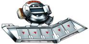 Battle City Beta Disk - Silver