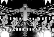 Haruto and the huge cross