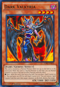 YuGiOh! TCG karta: Dark Valkyria