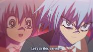 Yu-Gi-Oh! in Hayate partner