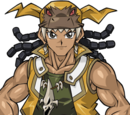 Tyranno Hassleberry (Tag Force)