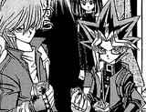 Yami Yugi and Joey Wheeler