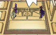 Atem and Seto's mock ka battle