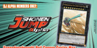 Weekly Shonen Jump Alpha September 2012 membership promotional card