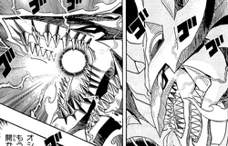 Slifer's second mouth opening